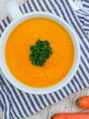 Creamy Root Vegetable Soup