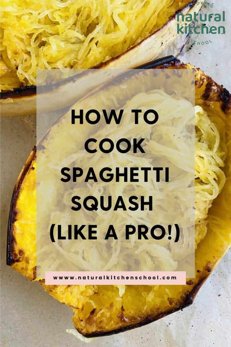 A baked spaghetti squash recipe that's delicious