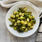 Brussels sprouts recipe balsamic