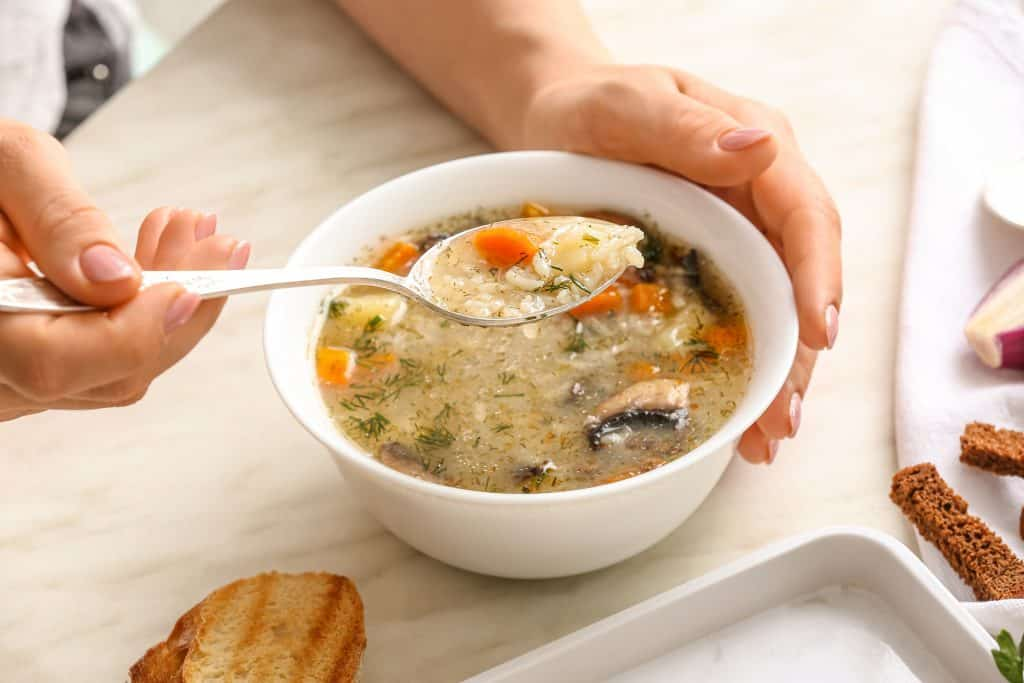 how to make simple soup