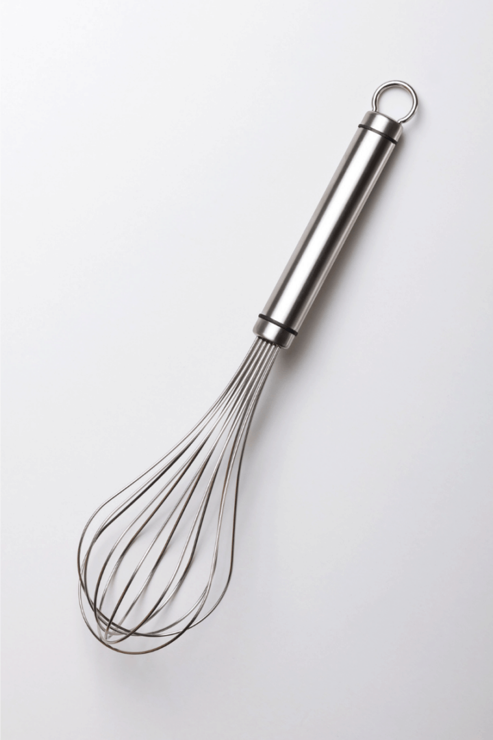 whisk on a white background