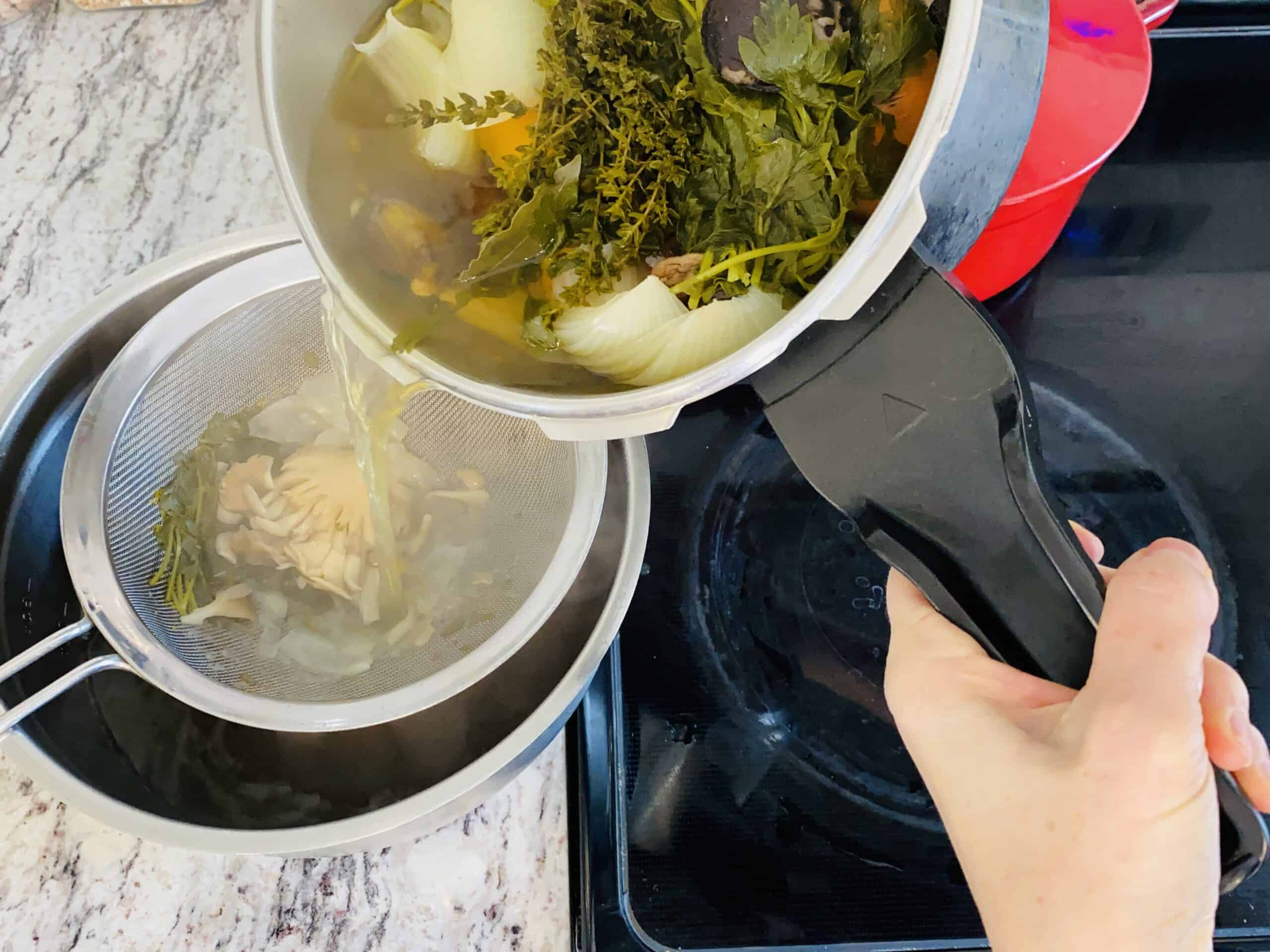 vegetable broth recipe slow cooker style