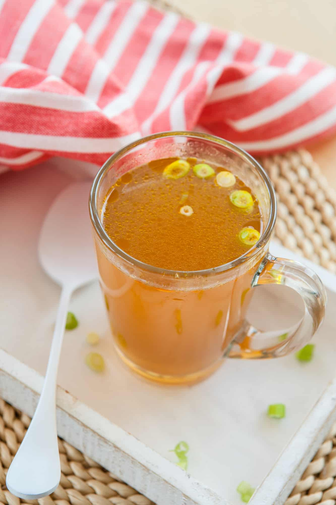 vegetable soup broth recipe